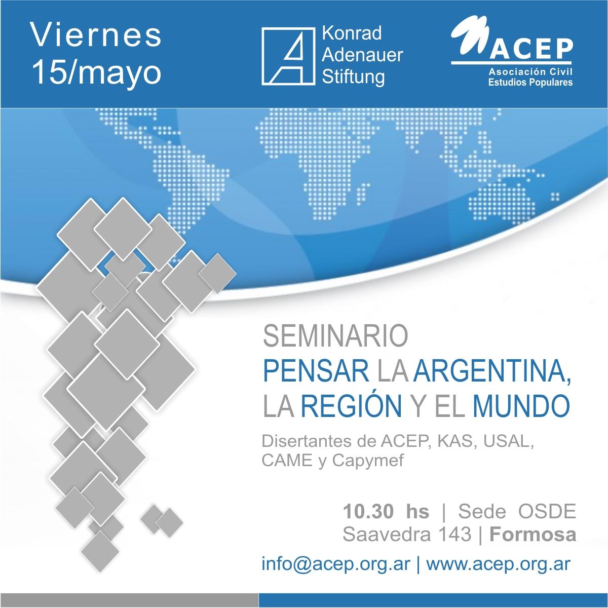 Seminarios Pensar la Argentina