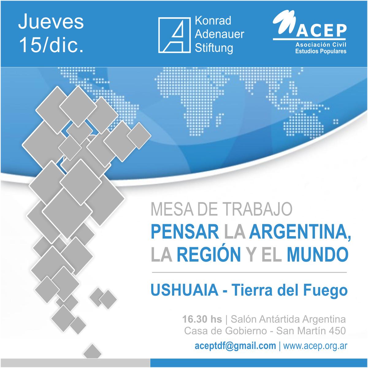 Mesa de Trabajo ACEP KAS Tierra del Fuego 2016